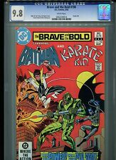 Brave and the Bold #198 CGC 9.8 (1983) Batman Karate Kid Highest Grade White Pgs
