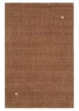 Tapis marron rectangulaire persane/orientale traditionnelle pour la maison