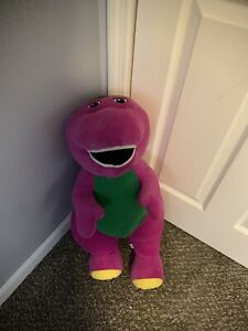 Fisher Price Barney Large Plush 26 Inch Jumbo Barney And Friends Lovey