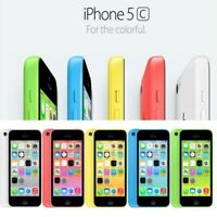 Apple iPhone 5C 16GB White Blue Green Pink Yellow Unlocked Graded UK