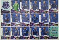 2020/21 PANINI Adrenalyn EPL Soccer Cards - Everton Team Set (18 cards)