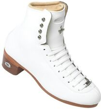 Riedell Model 43 ice Figure Skate Boots Size 2 1/2 Width B/A White new with Box