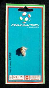 1990 Italy Bertoni Italia 90 FIFA soccer football World Cup metal PIN