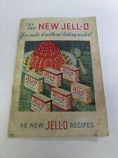1932 48 New Jell-O Recipes Booklet