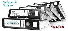Steuerlehre-Lehrbriefe Vorbereitung auf die Steuerberaterprüfung