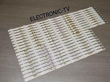 18 barettes leds  POUR TV samsung UE55JU6800