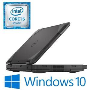 """Dell Latitude 5414 Rugged i5 6300U 8G 256G SSD 14"""" FHD HDMI Win 10 Pro B Grade"""