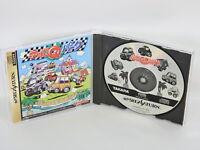 CHORO Q PARK Ref/ccc Sega Saturn Japan Game ss