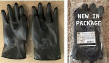 6 Pr North Honeywell B16111 Industrial Butyl Gloves Smooth 16 Mil Size 11