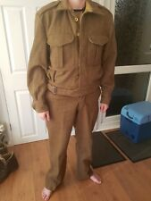 british army ww2 battledress uniform