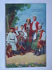 ZARA Costumi dalmati Dalmazia AK vecchia cartolina