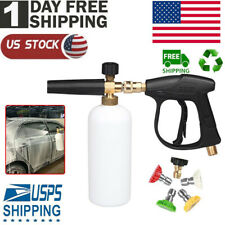 Ruler Foam Cannon Lance With 14 Standard Quick Connector Pressure Washer Gun