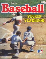 1984 Baseball Sticker Year Book