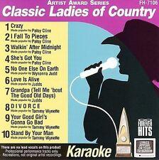 Karaoke: Classic Ladies of Country CD ***NEW***