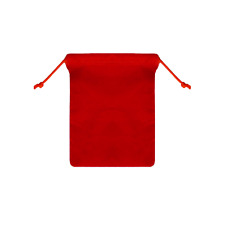 25pcs RED 3x4 inch Jewelry Pouches Velveteen Gift Bags
