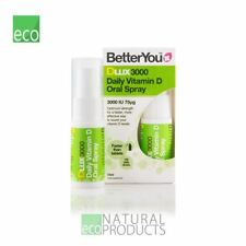 BetterYou Dlux 3000 diario de vitamina D oral spray 15 Ml