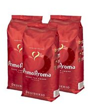 Kaffeebohnen Espresso 3 x 1000 g Primo Aroma Caffe Desiderio Qualitätskaffee