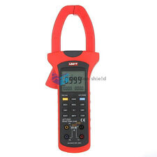 UNI-T UT233 Digital True RMS Power Factor Clamp Meter Multimeter AC Value USB