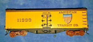 ULRICH Roaring Twenties Wood Reefer Car DECORATED - American Transit