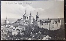 Early Vintage El Escorial Spain Vintage Postcard - View of The Monastary