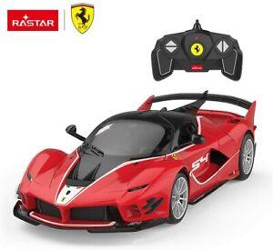 1:18 Ferrari FXX-K EVO RC Car DIY Assembly Building Kit with Remote by Rastar
