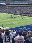 GIANTS PANTHERS 3 TICKETS LOWER LEVEL 10/24 W/PARKING