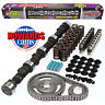 """HOWARD'S 1800-6000 RPM Chevy Street Force™ 279/289 465""""/488"""" 112° Hyd Cam Kit"""