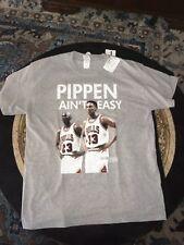 Pippen Aint Easy T Shirt Large Jordan Chicago Bulls. Brand new unworn.