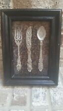 Very Nice Vintage Wall Art Featuring a Fork, Knife & Spoon