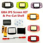 GBA 10 Levels Brightness V2 IPS Backlight LCD Mod & GBA Pre -Cut Housing shell