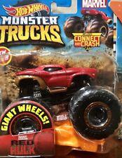 """Hot Wheels Marvel """"Red Hulk"""" Monster Truck"""
