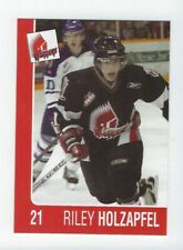2004-05 Moose Jaw Warriors (WHL) Riley Holzapfel (Vienna Capitals)