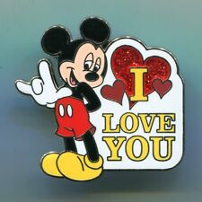Disney  Mickey Mouse Sign language I Love You Pin