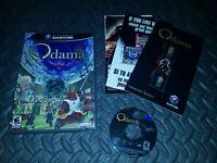Odama Game (Nintendo GameCube, 2006) - All Original GOOD Rare