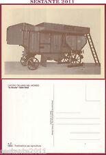 ITALIA MAXIMUM MAXI CARD LAVORO ITALIANO LA BREDA TREBBIATRICE N. 7 1985 B567