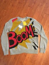 NWT Philip Lim for Target Boom! graphic sweater Womens XS
