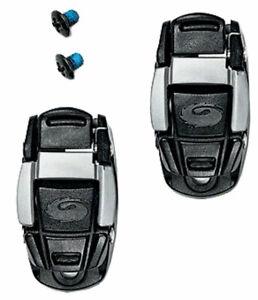 Sidi Shoe Replacement Caliper Shoe Buckle: Black/Gray