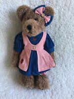 Boyds Bears Mary Ellen Patchbeary Retired  T.J.'s Best Dressed Series 912643