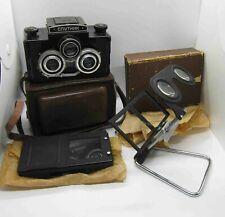 EXC! LOMO SPUTNIK Russian Stereo Camera kit 6x6cm Medium format