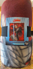 "NEW Marvel THOR Throwing Hammer Blanket Fleece Throw- 50"" x 60""- New In Package"