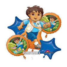 Diego Authentic Licensed Foil / Mylar Balloon Bouquet