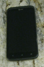 HTC One X - 16GB - Gray (AT&T) *TURNS ON BUT NO DISPLAY *AS-IS FOR PARTS /REPAIR