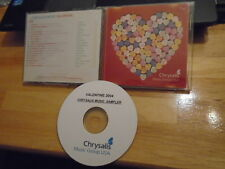 RARE PROMO Chrysalis publishing CD Valentine ELVIS Kylie Minogue Ray Lamontagne