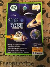 Leap Frog Solar System Adventure Pack Tag Reading System 2-Sided Map Game Board!