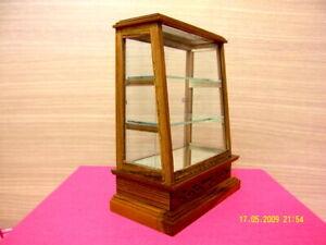 Small Display Cabinet Wood Teak Thai Handcraft Cupboard Furniture Dollhouse