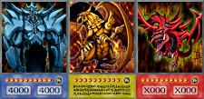 YUGIOH ORICA 3x-SET: GOD CARDS, RA SLIFER OBELISK   Yu-Gi-Oh! Anime