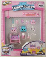 Brand New Shopkins Happy Places Bunny Laundry Decorators Pack