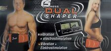 New Dual Shaper Electric Vibrating Slimming Belt Massager with EMS & Vibration