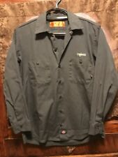 Troegs Brewing Hershey Pa ~ Mens Med ~ Dickies L/Slv Beer Delivery Work Shirt