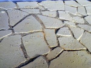 KRIPPENBAU Krippenzubehör, Bruchstein-Bodenplatten, 300 Gr., Krippenbau